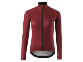 AGU Solid dames winter fietsjack - cinnamon
