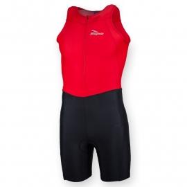 Rogelli kinder triathlon suit - rood/zwart