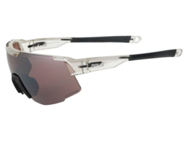 AGU Grit fietsbril - transparant/zwart