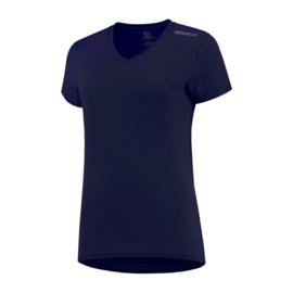 Rogelli Promo dames hardloopshirt korte mouw - navy