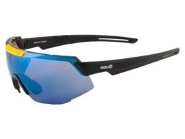 AGU Pride Jumbo Visma fietsbril - zwart/geel