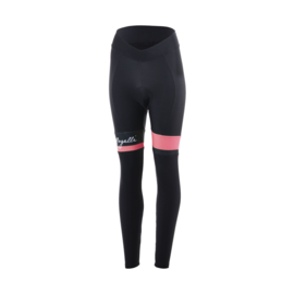 Rogelli Select lange dames fietsbroek - zwart/coral