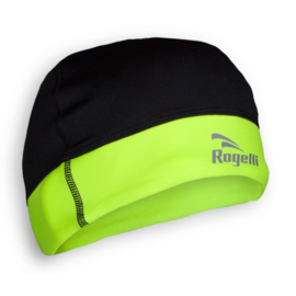 Rogelli Lester hardloopmuts - zwart/fluor