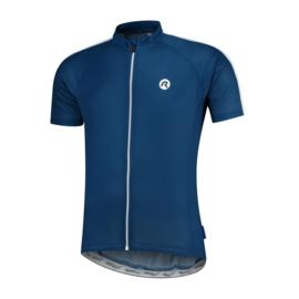 Rogelli Explore fietsshirt korte mouwen - blauw/wit