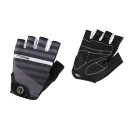 Rogelli Stripe zomer fietshandschoenen – zwart/grijs