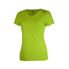 Rogelli Promo dames hardloopshirt - fluor