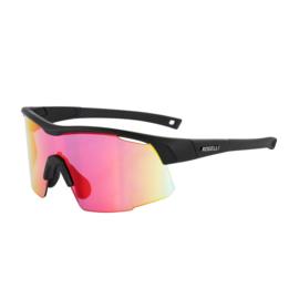 Rogelli Pulse fietsbril - zwart