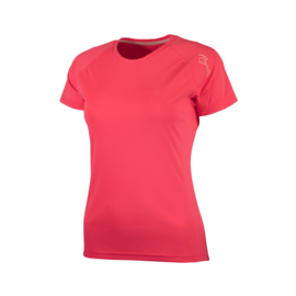 Rogelli Basic hardloopshirt dames korte mouw - guave