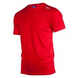 Rogelli Promo hardloopshirt heren korte mouw - rood