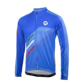 Rogelli Team 2.0 fietsshirt lange mouwen - blauw