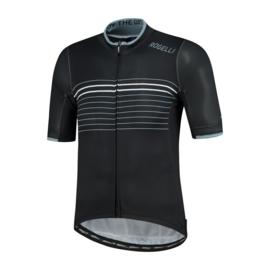 Rogelli Kalon fietsshirt korte mouwen - zwart/wit