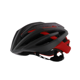 Rogelli Tecta fietshelm race - zwart/rood