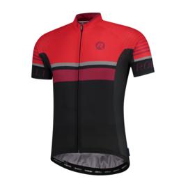 Rogelli Hero fietsshirt korte mouwen - grijs/zwart/rood