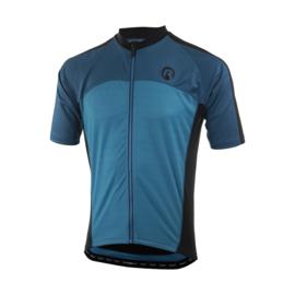 Rogelli Mantua 3.0 fietsshirt korte mouwen - blauw/zwart