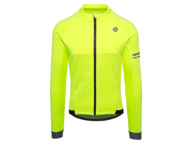 AGU Essential heren winter fietsjack - fluor