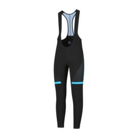 Rogelli Fuse heren fietsbroek lang - zwart/blauw