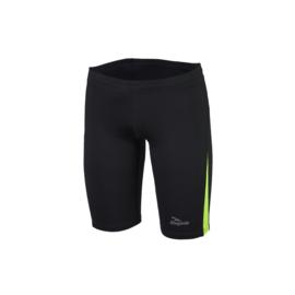 Rogelli Dixon korte hardloopbroek heren - zwart/fluor