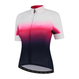Rogelli Dream dames fietsshirt korte mouwen - blauw/roze/wit