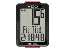 VDO M 1.1 fietscomputer draadloos