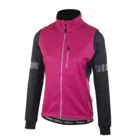 Rogelli Transition dames winter fietsjack - zwart/roze