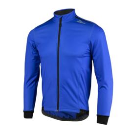 Rogelli Pesaro DeLuxe winter fietskledingset - zwart/blauw