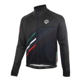 Rogelli Team 2.0 heren winter fietsjack - zwart