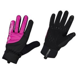 Rogelli Storm dames winter fietshandschoen - roze/zwart