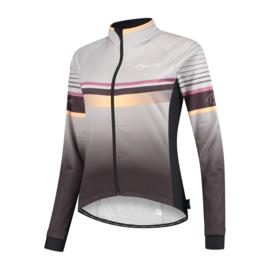 Rogelli Impress dames winter fietsjack - grijs/goud
