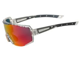 AGU Bold anti fog fietsbril - zwart/transparant