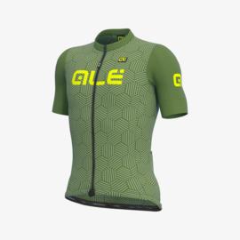 Alé Solid Cross fietsshirt korte mouwen - groen