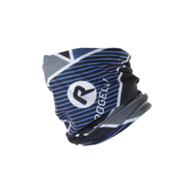 Rogelli scarf nekwarmer - blauw/zwart