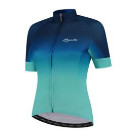 Rogelli Dream dames fietsshirt korte mouwen - turquoise/blauw