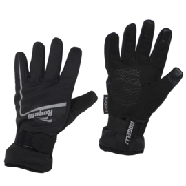 Rogelli Shield winter fietshandschoenen - zwart