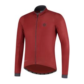 Rogelli Essential heren fietsshirt lange mouwen - rood