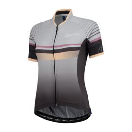 Rogelli Impress dames fietsshirt korte mouwen – grijs/goud