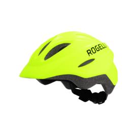 Rogelli Start kinder fietshelm - fluor
