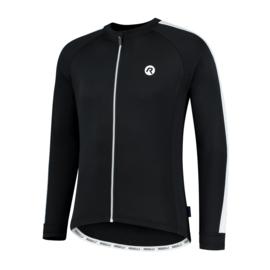 Rogelli Explore heren fietsshirt lange mouwen - zwart/wit