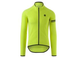 AGU Essential Thermo fietsshirt lange mouwen - fluor