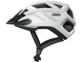 ABUS Mountz kinder fietshelm - wit/zwart