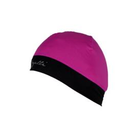 Rogelli Maxie dames hardloopmuts - zwart/roze