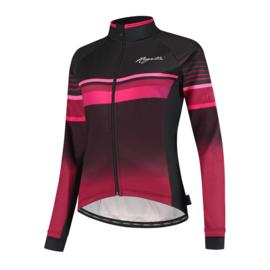 Rogelli Impress dames winter fietsjack - bordeaux/zwart/roze