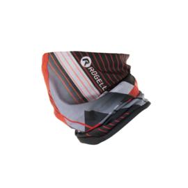 Rogelli scarf nekwarmer - zwart/grijs/rood