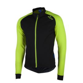 Rogelli Caluso 2.0 fietsshirt lange mouwen - zwart/fluor