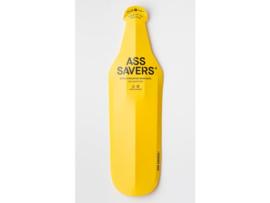 Ass Savers Wide vouwbaar spatbord - extra breed - geel