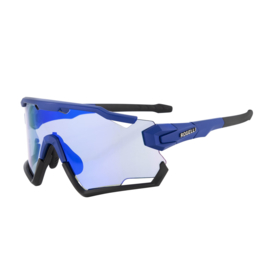 Rogelli Switch fietsbril - blauw