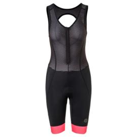 AGU Essential Prime II dames bibshort - zwart/coral
