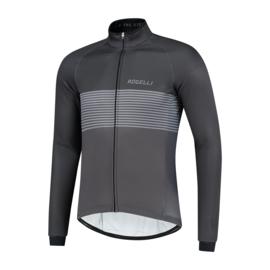 Rogelli Boost heren winter fietsjack - zwart/grijs