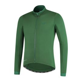 Rogelli Essential heren fietsshirt lange mouwen - legergroen