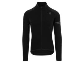 AGU Essential Thermo fietsshirt lange mouwen - zwart