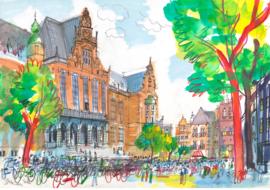 Groningen - Academiegebouw Rijksuniversiteit
